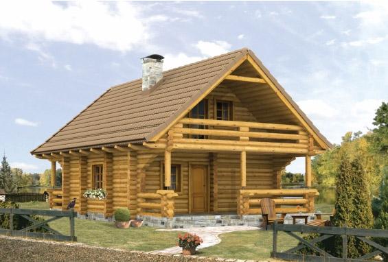 Дизайн мансардный дом
